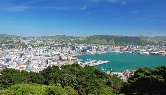 Foto Wellington Panoramo Von Wellington A Wellington