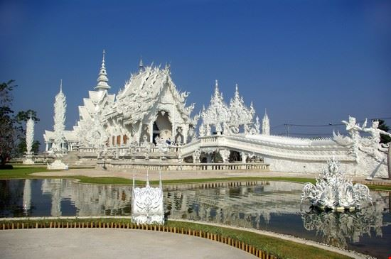Chiang Rais Weißer Tempel