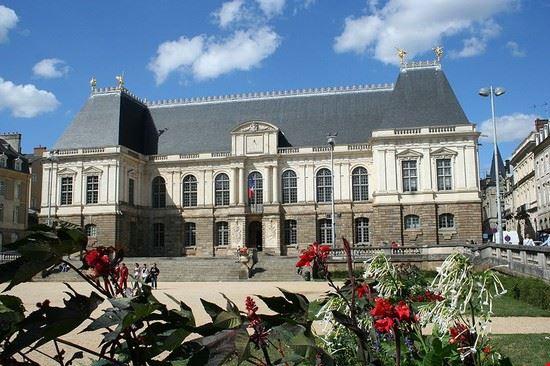 Palais du parlement de Bretagne à Rennes