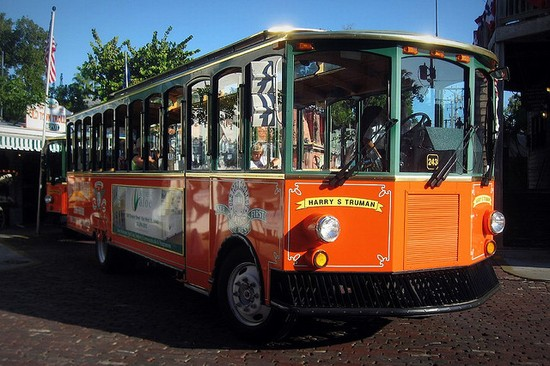 Photo Old Town Trolley in Key West - Pictures and Images of Key West - 550x366  - Author: Joanna, photo 1 of 25