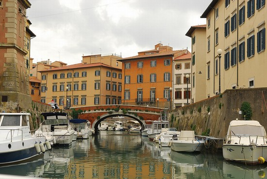 Photo livorno kanal in Livorno - Pictures and Images of Livorno - 550x368  - Author: Editorial Staff, photo 4 of 39
