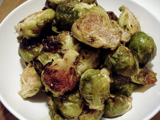 Photo Roasted Brussels Sprouts in Brussels - Pictures and Images of Brussels - 550x412  - Author: Leighton, photo 1 of 160