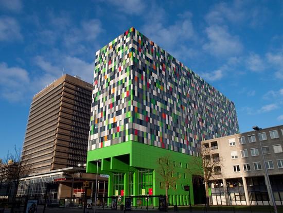 Photo utrecht utrechts moderne architektur und farbwahl in for Moderne architektur