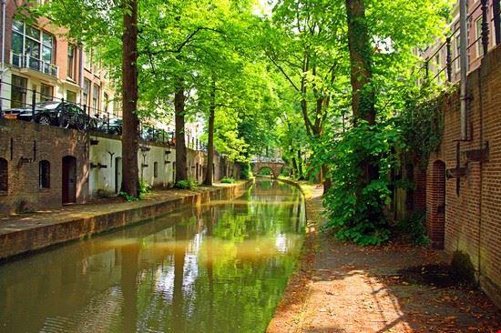 Kanal in Utrecht