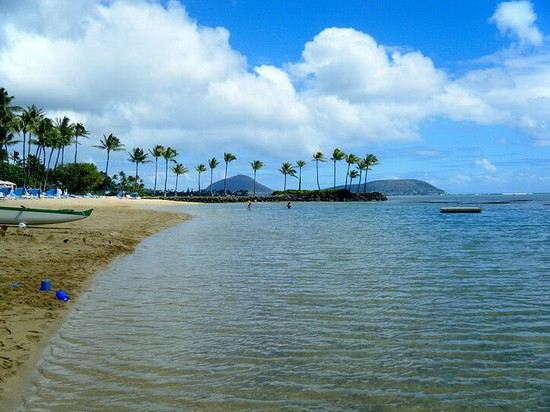 Photo Best Beaches - Kahala Beach in Honolulu - Pictures and Images of Honolulu