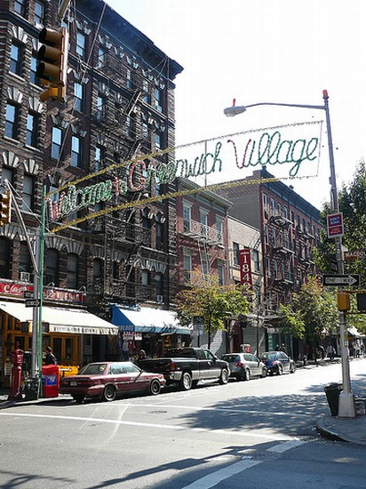 Photo new york greenwich village in New York - Pictures and Images of New York - 412x550  - Author: Fabrizio, photo 2 of 594