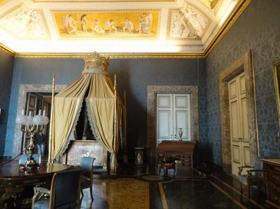 Foto e Immagini di Caserta: Foto Camera da letto di Francesco II ...