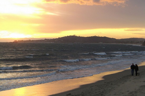 Photo Butterfly Beach in Santa Barbara - Pictures and Images of Santa Barbara - 550x366  - Author: Carl, photo 1 of 57