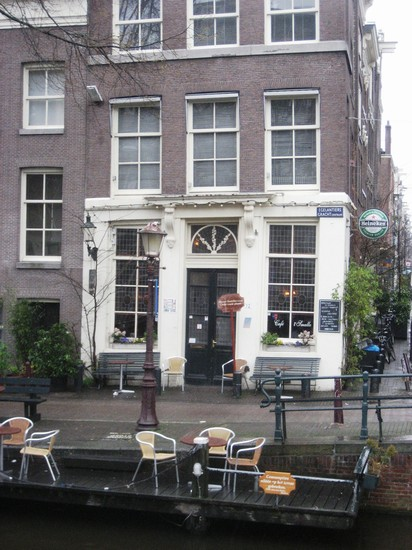 Photo cafe 't Smalle Amsterdam - Mar08 - 8 in Amsterdam - Pictures and Images of Amsterdam - 412x550  - Author: Leighton, photo 1 of 329