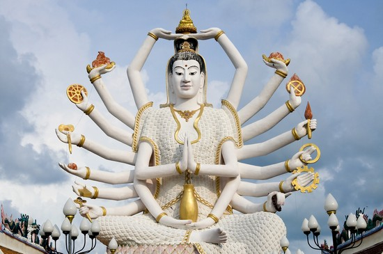 Photo koh samui achtzehn arme des buddha in Koh Samui - Pictures and Images of Koh Samui