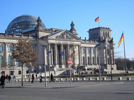 El palacio del Reichstag