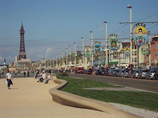 The Blackpool Promenade