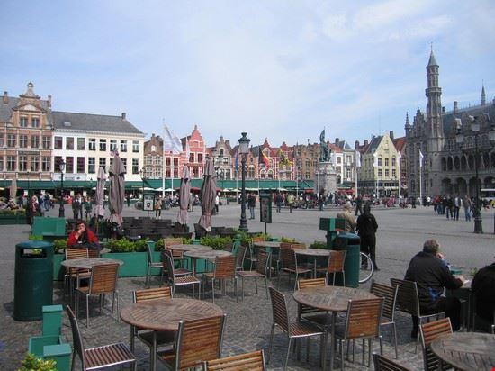 La piazza di Bruges