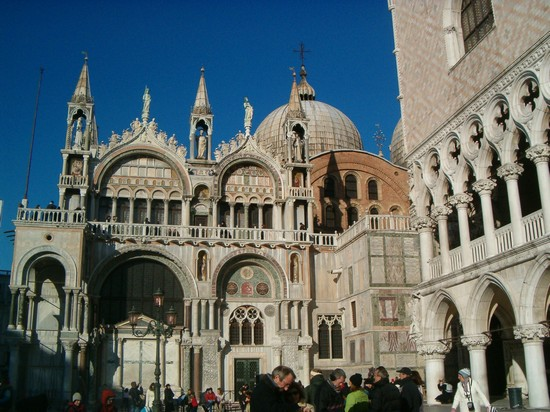 Photo basilica di san marco venezia in Venice - Pictures and Images of Venice - 550x412  - Author: Laura, photo 4 of 720