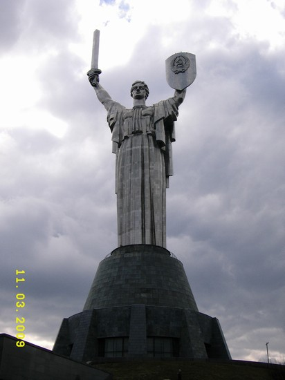Photo monumento madre della patria kiev in Kiev - Pictures and Images of Kiev - 412x550  - Author: Ernesto, photo 26 of 77