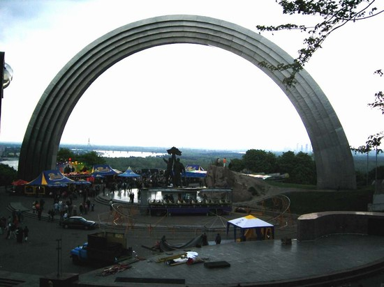 Photo arco dell unione kiev in Kiev - Pictures and Images of Kiev 