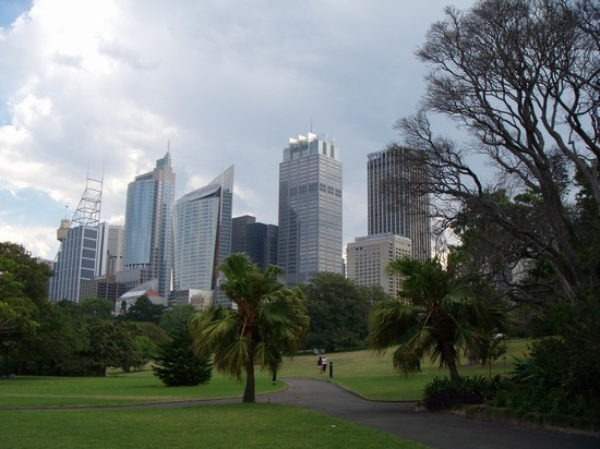 Photo parco...skyline.. in Sydney - Pictures and Images of Sydney