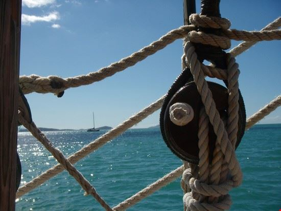 sailing the Whitsundays..