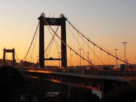 Brücke über den Tamar