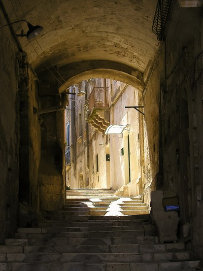 Photo matera gassen in matera in Matera - Pictures and Images of Matera 