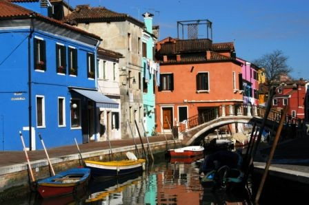 Photo i colori di burano venezia in Venice - Pictures and Images of Venice