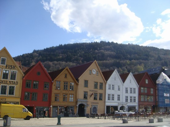 Photo Old town in Bergen - Pictures and Images of Bergen