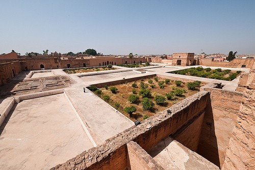 Photo El Badi Palace in Marrakech - Pictures and Images of Marrakech - 500x334  - Author: Editorial Staff, photo 1 of 151