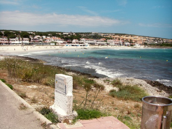 Punta Prima Minorca Spiaggia Punta Prima a Minorca