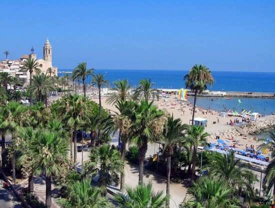 Sitges en Espagne