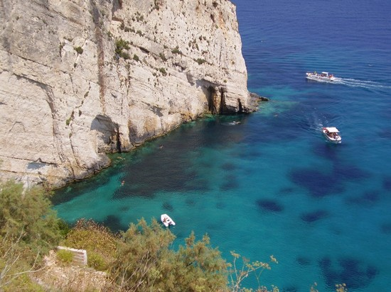 Photo la grotta azzurra zacinto in Zante - Pictures and Images of Zante