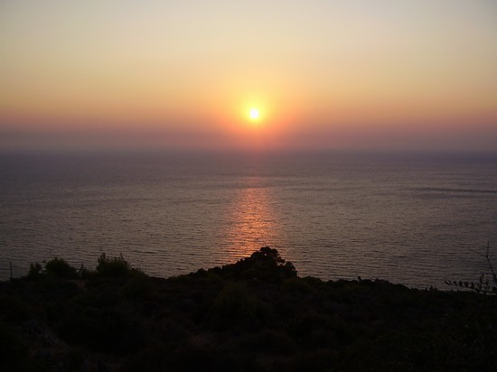 Photo tramonto zacinto in Zante - Pictures and Images of Zante