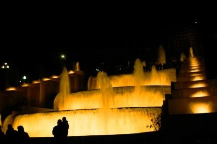 Photo Fuente Magica Montjuic in Barcelona - Pictures and Images of Barcelona