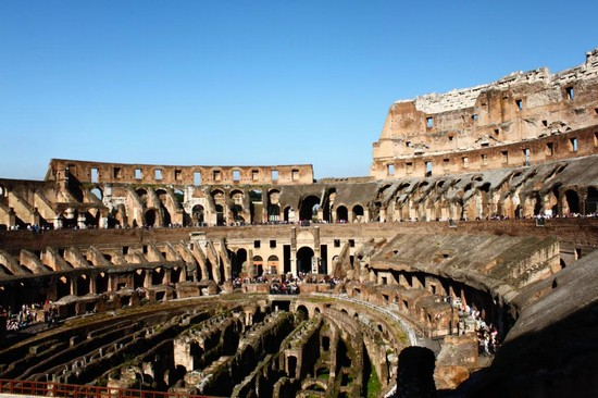 Photo l interno del colosseo roma in Rome - Pictures and Images of Rome