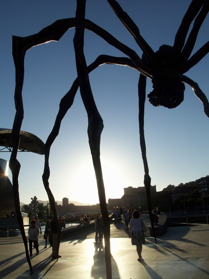 Photo museo guggenheim bilbao bilbao in Bilbao - Pictures and Images of Bilbao