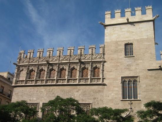 La Lonja de la Seda Valencia - Monuments and Historic Buildings