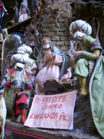 Photo via san gregorio armeno: il presepe influensato in Naples - Pictures and Images of Naples