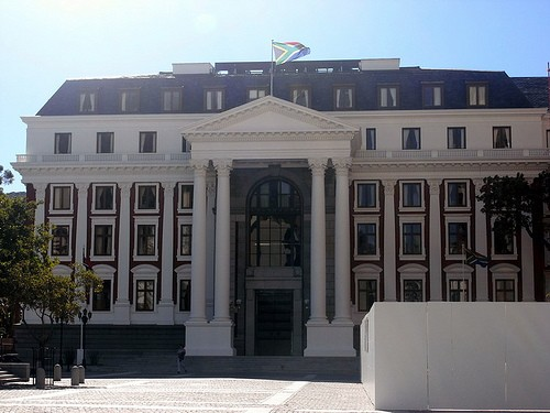 HOUSE OF PARLIAMENT a CAPE TOWN