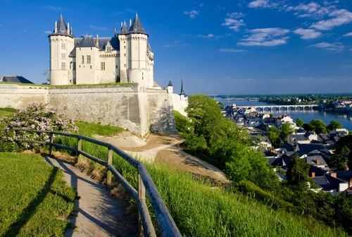 Saumur (Сомюр), долина Луары, Франция