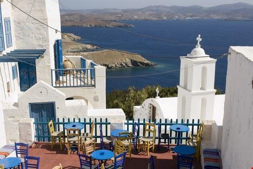 Parikia ou Hora en Grèce