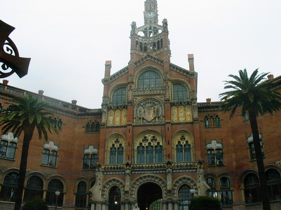Photo barcellona ospedale artistico in Barcelona - Pictures and Images of Barcelona - 550x412  - Author: Marco, photo 9 of 609