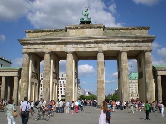 Photo porta di brandeburgo berlino photos de berlin et - Berlino porta di brandeburgo ...