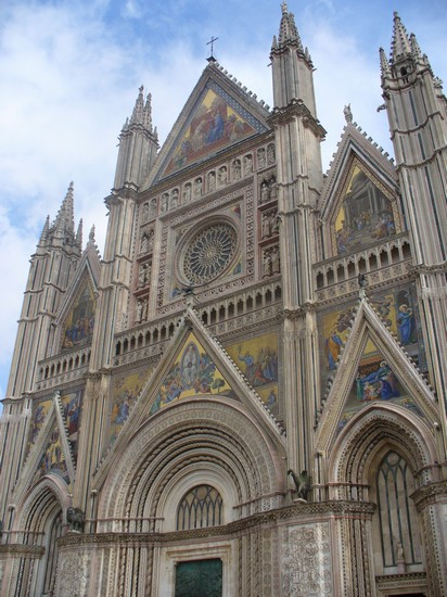 Photo Il bellissimo Duomo in Orvieto - Pictures and Images of Orvieto