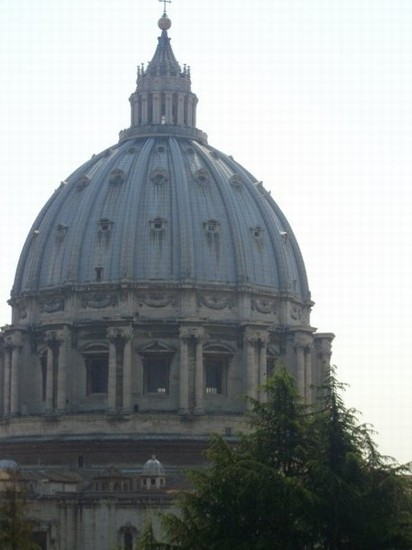Photo cupola di san pietro roma in Rome - Pictures and Images of Rome - 412x550  - Author: Laura, photo 11 of 999