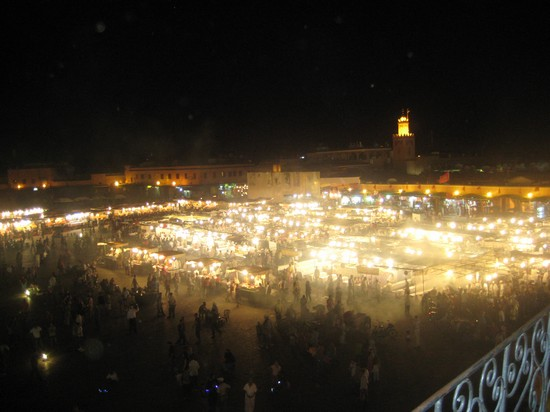 Photo place Jamaa El Fna in Marrakech - Pictures and Images of Marrakech