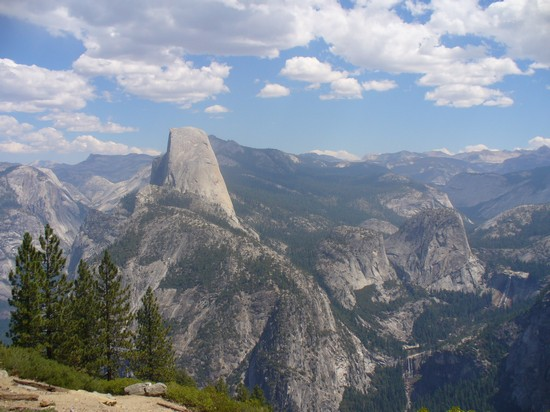 Photo View Point sulla vallata in Yosemite National Park - Pictures and Images of Yosemite National Park