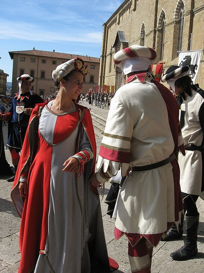Photo Giostra del Saracino in Arezzo - Pictures and Images of Arezzo