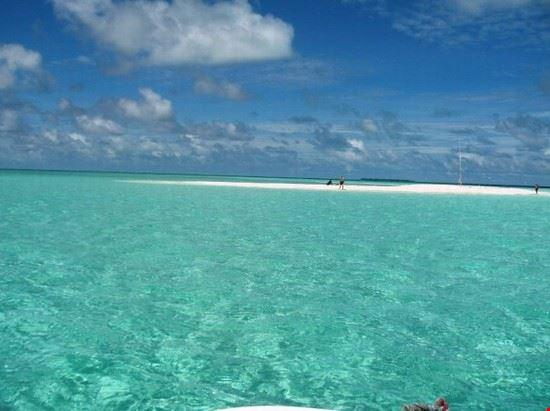 Acqua cristallina a Malè
