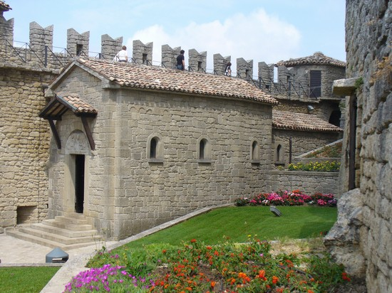 Photo Interno della Rocca in San Marino - Pictures and Images of San Marino