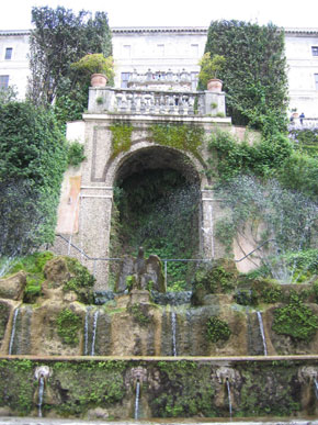 Photo Fontana monumentale in Tivoli - Pictures and Images of Tivoli