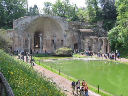 Photo tivoli canopo scorcio in Tivoli - Pictures and Images of Tivoli - 415x311  - Author: Editorial Staff, photo 4 of 84